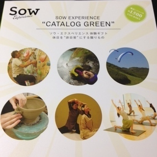 SOW EXPERIENCE  GREEN 10,000円コース ...