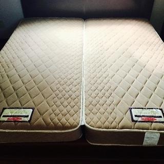 フランスベッド マットレス&木製フレーム