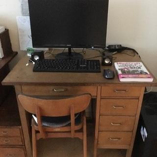 昭和の勉強机