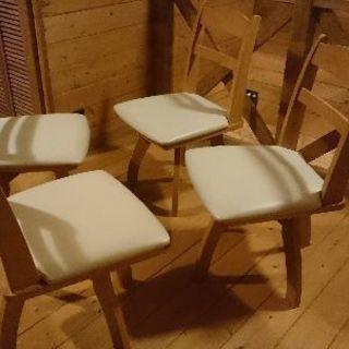 ダイニングチェア 椅子 4脚セット