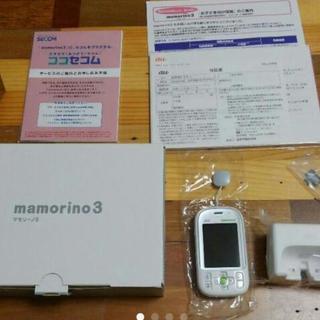 ☆ 新品 未使用☆au みまもりケータイ mamorino3 マモ...