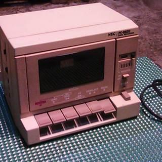 NEC製のデーターレコーダー PC-DR311 ジャンク品