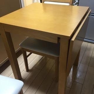 折りたたみ式 ダイニングテーブル