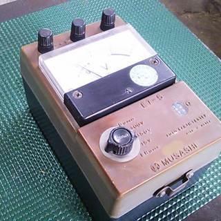 ムサシ電機計器製作所製 自動接地抵抗測定器 中古品