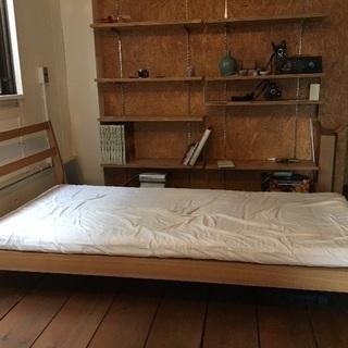 無印良品 オーク材ベッド シングル