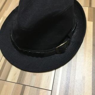 麻と綿のハット〔帽子〕