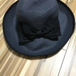 超美品!リボンの麦わら帽子