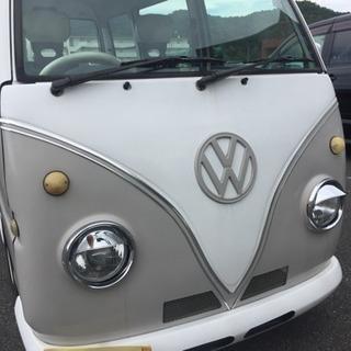 VWワーゲンバス仕様 車検付 サンバーバン