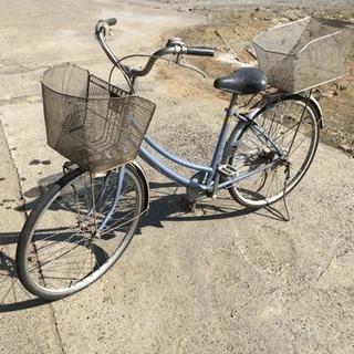 ブリジストン 自転車 カゴ2つ付き