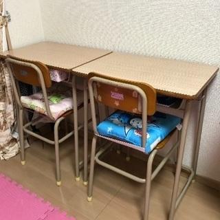学校用机とイス(1セット2点)別売り可能