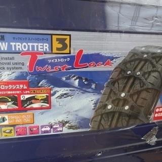 新品未開封 車のスパイクチェーン これからの冬に備えてどうですか?
