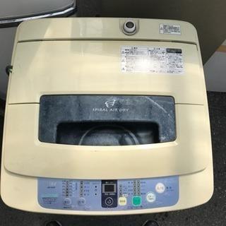 HAIER洗濯機2012年製4.2kg配達無料