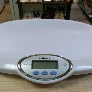 KIN Lee ベビースケール 中古品 赤ちゃんの体重計