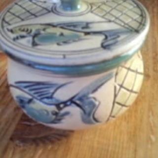 陶器の蓋付き小鉢 0円