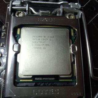 CPU Intel i5 660 中古 バルク 動作確認済み
