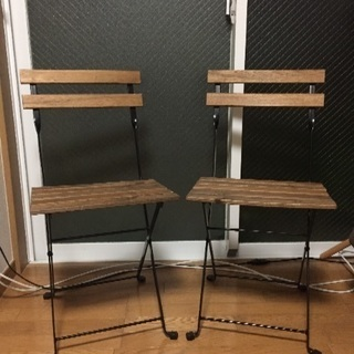 IKEA 椅子とテーブルセット