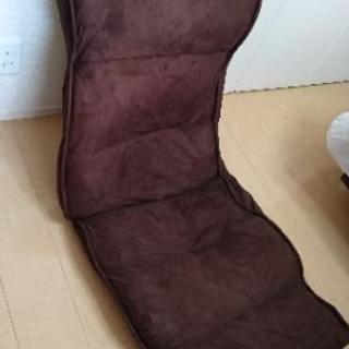 座椅子  リクライニング式