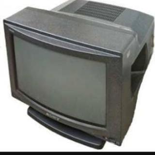 ビデオ一体型ブラウン管テレビ
