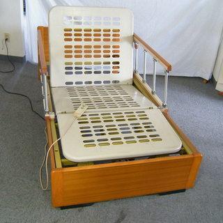 【さらに値下げ】フランスベッド 電動リクライニングベッド 1モータ...