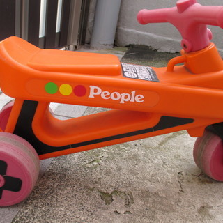 【ジャンク】ピープル 公園レーサー 乗用玩具 公園レーサー 足こ...