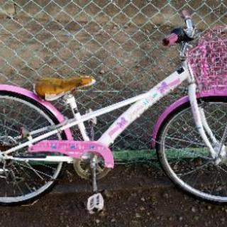 女児 24インチ自転車