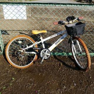 男児 24インチ自転車