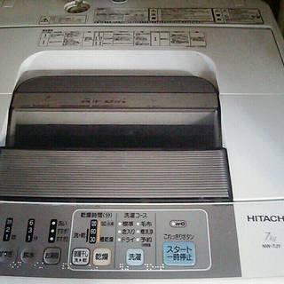 急募!! 日立洗濯機NW-7JY 7KG 引き取りに来てくださった...