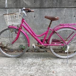 ジャンク 24インチ自転車 無料