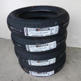 新品155/65/14 タイヤ+交換、安い