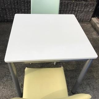 ダイニングテーブルセット 椅子2脚付き リサイクルショップ宮崎屋1...