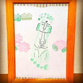 おみやげ・お出かけの思い出作りにも♡手形・足形アートワークショップ...