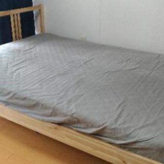 【IKEA】ダブルベッド マットレス