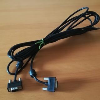 長さ5メートル アナログRGBケーブル(VGAケーブル) ミニD-...