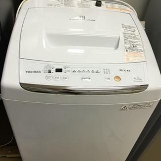 2012年製 東芝 4.2kg 全自動洗濯機