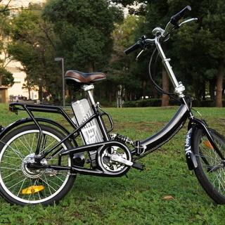 ★モペット型折りたたみ電動機付自転車E-BIKE20インチ★