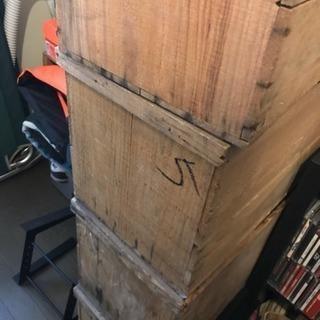 木箱 りんご箱 5箱