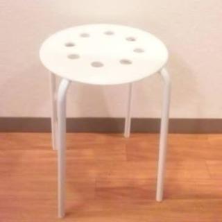 【交渉中】IKEA スツール2つ