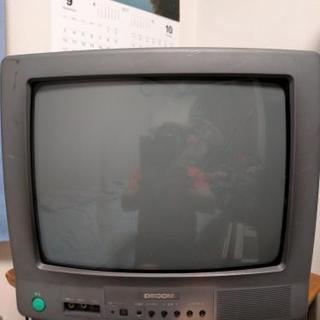 DECOM製 1999年1月〜6月期製 ブラウン管テレビ