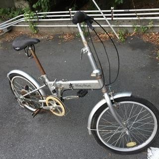 ジャンク   折りたたみ自転車