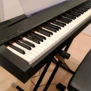 YAMAHA P-70 電子ピアノ スタンド、椅子付き