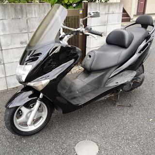 整備士メンテ済 QG006 マジェスティ 125 外装新品 バーハ...