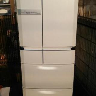 6ドア冷蔵庫(6ヶ月保証付き)❗ジモティ限定お買得❗三菱6ドア冷蔵...