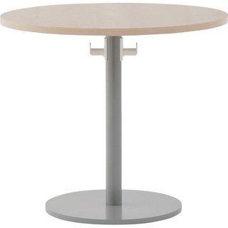 丸い天板 ダイニングテーブル ミー...