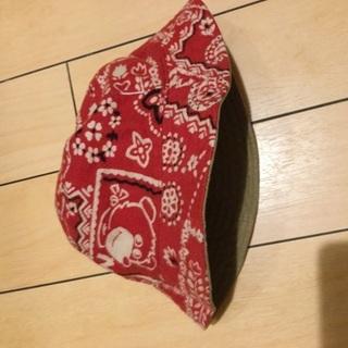 ミキハウス、帽子、50cm