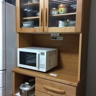 アルダー材 食器棚 引越しの為
