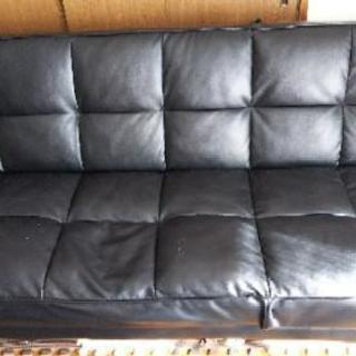 3人掛けベッドソファー