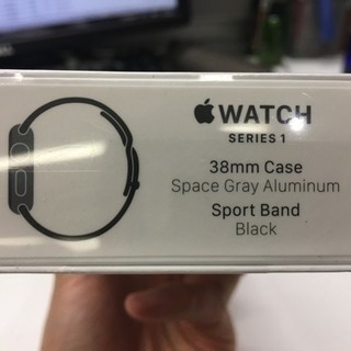 ☆未開封☆Apple Watch Series1 38mm Cas...