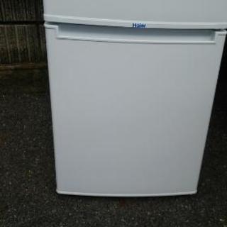 2ドア冷蔵庫(3ヶ月保証付き)ジモティ限定お買得❗ハイアール2ドア...