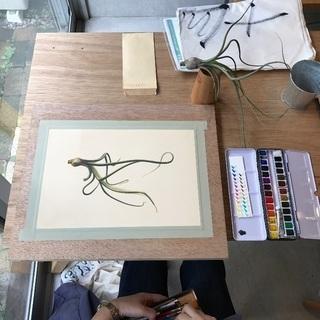 Botanical Portrait-ボタニカルポートレート教室