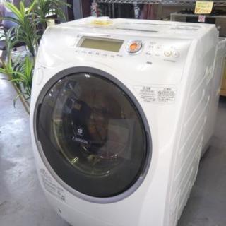 最強ヒートポンプ乾燥!激安でドラム式洗濯機!